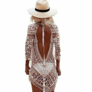 59c65eeb Traje de baño Para mujer ropa de playa verano Túnica tropical para ...