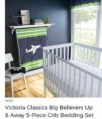 Airplane Nursery Theme Bedding And