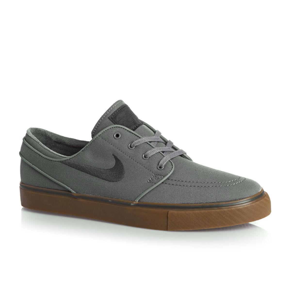 Nike sb stefan janoski grey / gomma skateboard Uomo scarpe nuove di zecca in scatola!!