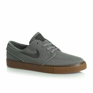 buy popular f37b6 aa725 Image is loading NIKE-SB-STEFAN-JANOSKI-GREY-GUM-SKATEBOARDING-Mens-