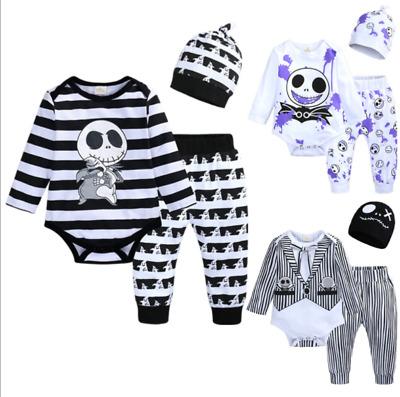 Halloween Fasching Kostüm Set Baby Kinder Skelett