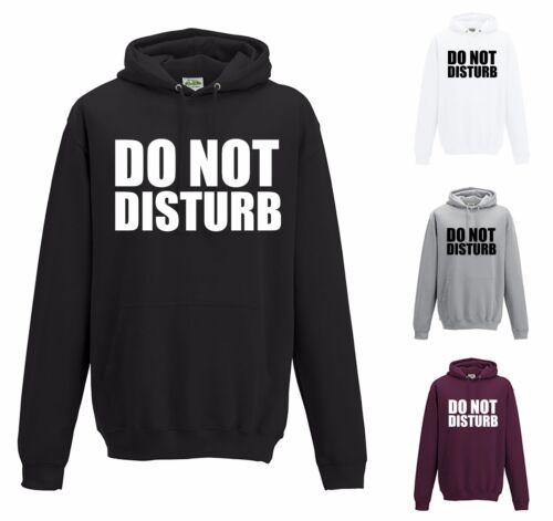 Non disturbare Felpa con cappuccio-JH001 Cool Divertente Maglione Studente Pigro Slogan dichiarazione