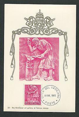 Sinnvoll Vatican Mk 1966 Berufe Schmied Smith Maximumkarte Carte Maximum Card Mc Cm D5634 Motive Briefmarken