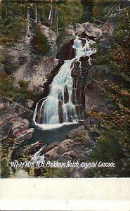 White-Mountains-New-Hampshire-Pinkham-Crystal-Cascade-Notch-Old-Vintage-Postcard