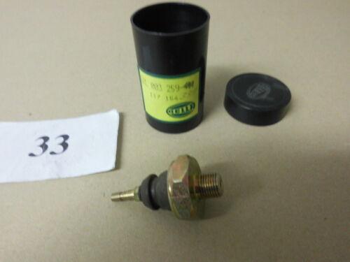 Öldruckschalter Opel ASTRA F G H CORSA A B C MERIVA 1.7 D CDTI DI original HELLA