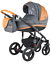 Adamex-VICCO-Carmel-amp-Grey-3in1-luxury-stroller-kinderwagen-pushchair-car-seat miniatura 9