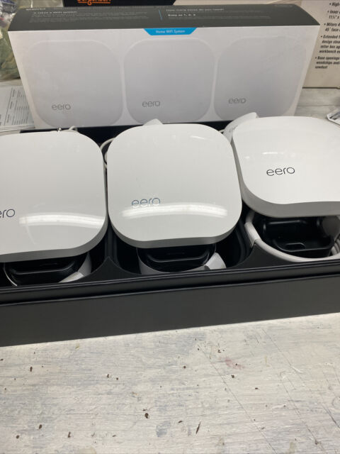 Eero Wi-Fi Access Point A010301 with Shrinkwrap Pack of 3