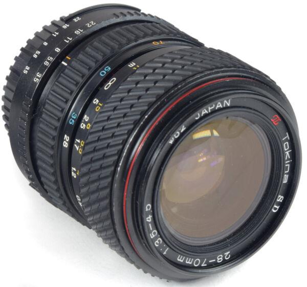 Nikon Ai Tokina Sd 28-70 Mm 3.5-4.5 Officiel 2019