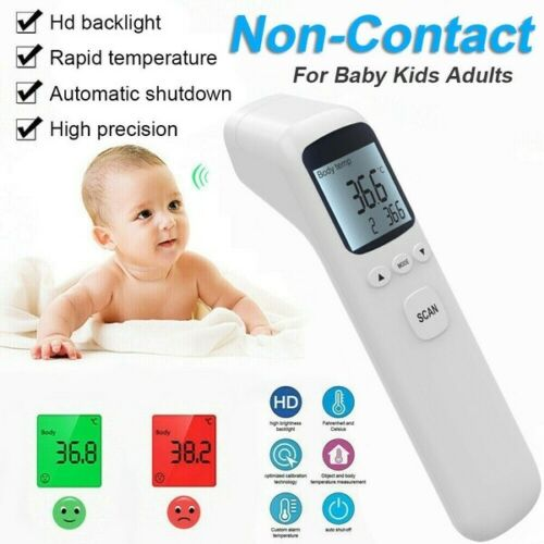 Medical Thermometer Forehead /& Ear Infrared Digital Baby Adult Kids IR LCD