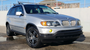 MUST SELL PRICE REDUCED 2003 BMW X5 4.4i LOW KM'S