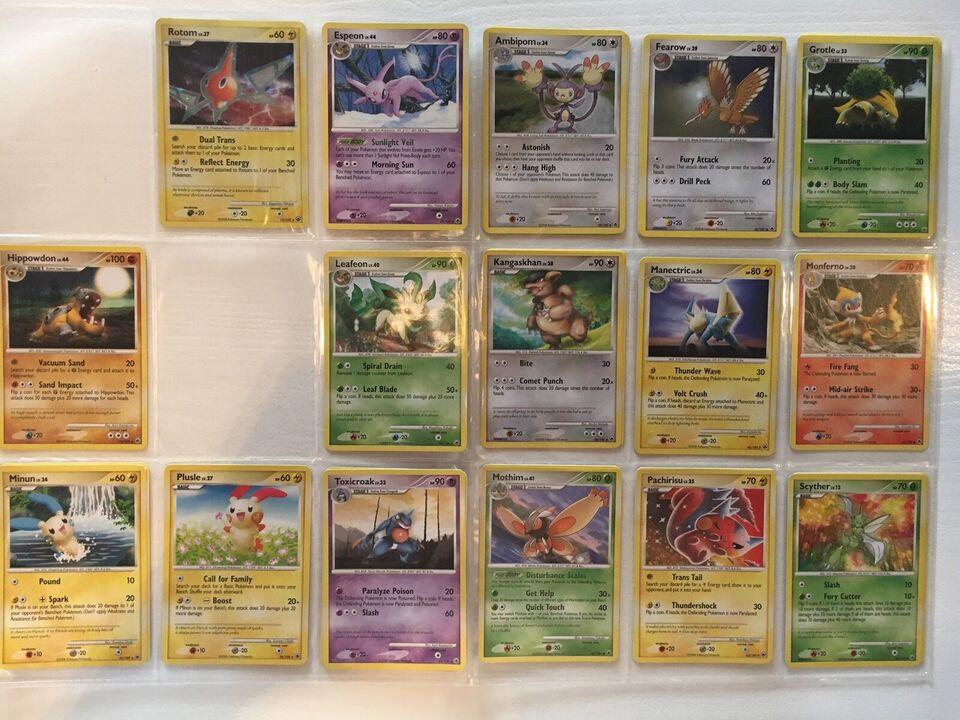 Samlekort, Sjældne Pokémon Kort - D&P: Majestic Dawn