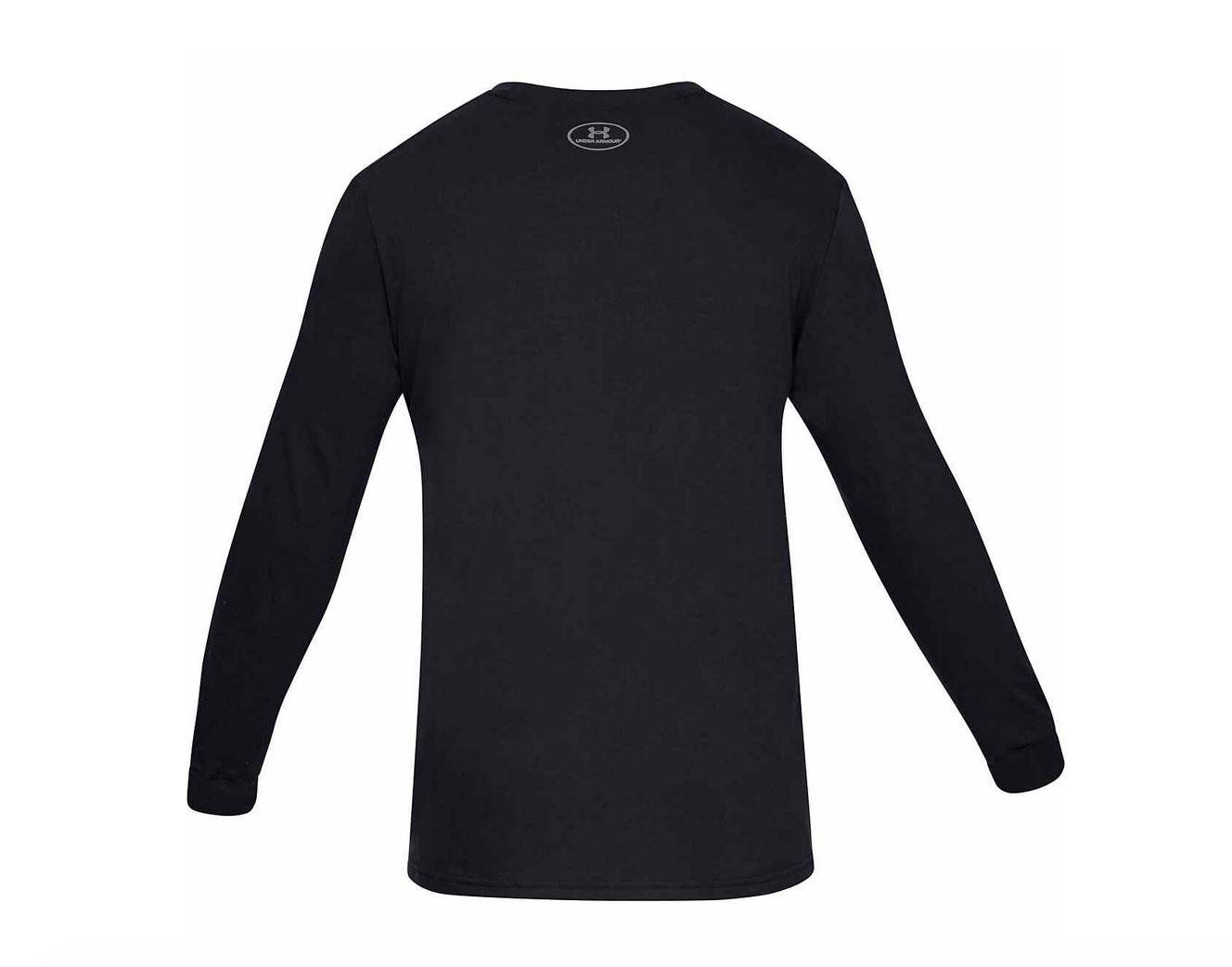 Under Armour Men/'s boxed logo Long-Sleeve T-shirt Camo black or white