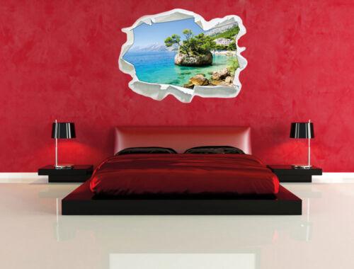 3d-Look papel murales pegatinas Precioso Dalmatia playa en croacia