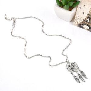 Elegant-Retro-Dream-Catcher-Wings-Charm-Pendant-Long-Sweater-Chain-Necklace-TR86