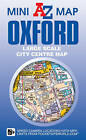Oxford Mini Map by Geographers' A-Z Map Co Ltd (Sheet map, folded, 2015)
