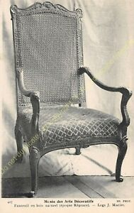 Postcard-Arts-Decorative-Chair-Furniture-Period-Regency-Edit-ND-427
