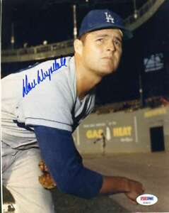 Don-Drysdale-Psa-Dna-Coa-Autograph-8x10-Photo-Hand-Signed-Authentic