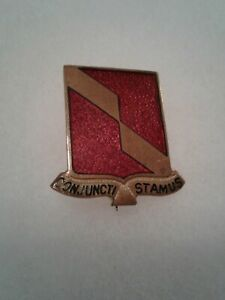 Authentic-WWII-US-Army-27th-Artillery-Regiment-DI-DUI-Unit-Crest-Insignia-NH