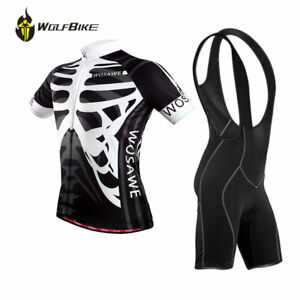Shorts Cycling Clothing Bike Sports Wear Men Bicycle Short Sleeve Jersey Bib