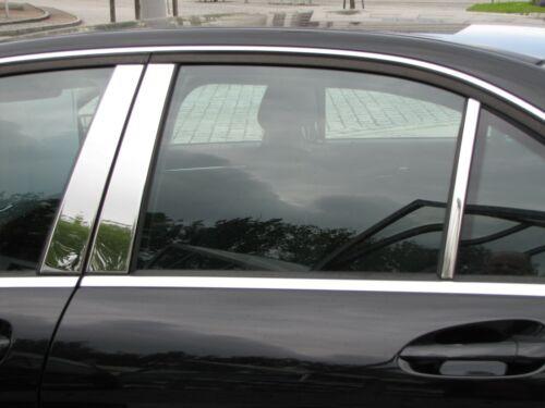 Mercedes w212 212 E-Classe Limousine B-pilier Revêtement en Chrome Acier Inoxydable