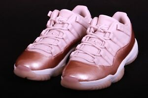 new arrivals de38c 5fefb Image is loading Nike-Air-Jordan-Retro-11-XI-Low-Metallic-