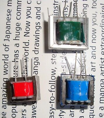 3pcs Audio input output transformers kit