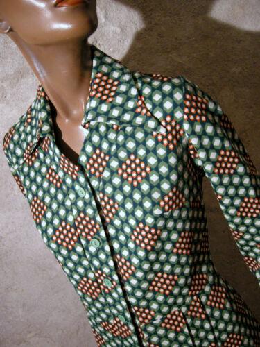 70 años Kleid vintage mod Vestido 70er 70 36 Graphic estilo Vestido los Vasarely años elegante 38 de 4BxTqxzp
