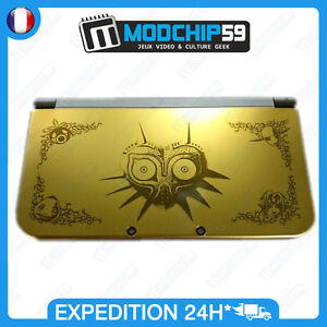 Coque-New-3DS-XL-Zelda-Majora-mask-Limited-Edition-Case-Full-Housing-Shell-neuve