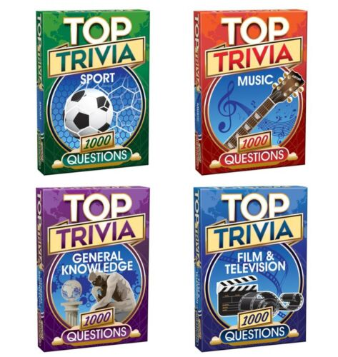 Cheatwell Games Top Trivia Games