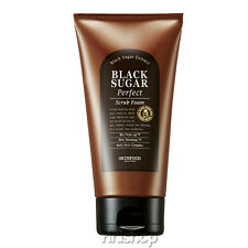 [SKINFOOD] Black Sugar Perfect Scrub Foam 180g Rinishop