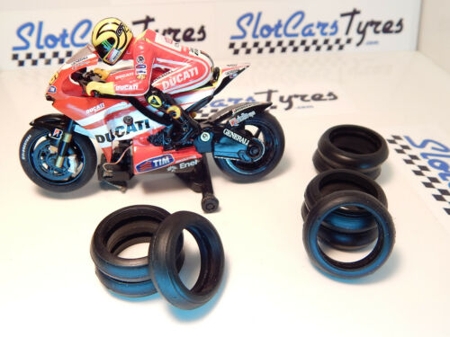 16 pneus  AR URETHANE moto SCALEXTRIC