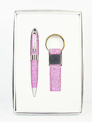 Glitter Diamant Stift Schlüsselring Set Kugelschreiber Geschenk Set Schreibwaren Supplement Die Vitalenergie Und NäHren Yin Füller & Schreibartikel