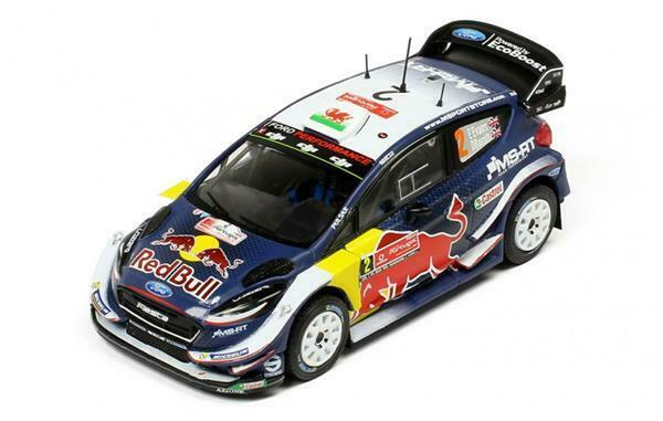 IXO FORD FIESTA WRC WRC WRC E. Evans-D. Barritt 1 43 RAM676 505b61