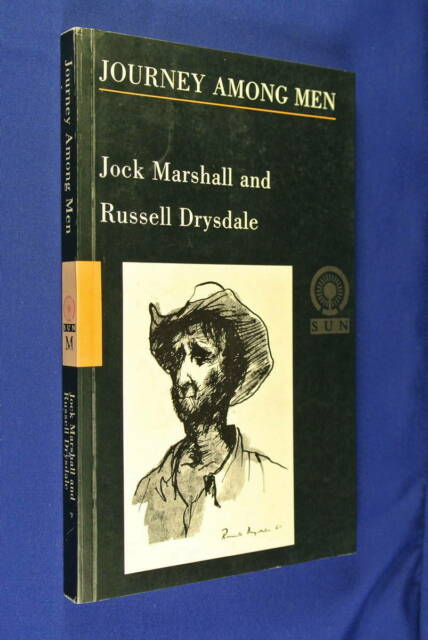 JOURNEY AMONG MEN Jock Marshall Russell Drysdale AUSTRALIAN OUTBACK TRAVEL book