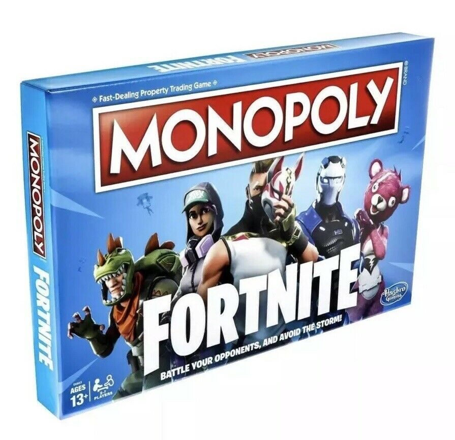 Fortnite Monopoly Limited Edition Hasbro Board Game NEW  - Free Ship