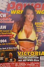 Power Wrestling 2/2005 WWE WWF TNA + 4 Poster (Rumble, Lilian, Undertaker)