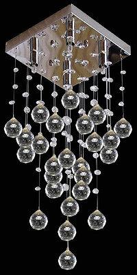 Modern Lamp Rain drops Crystal Chandelier living room Pendant lighting Fixtures
