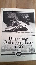 SPECIALS/MADNESS Dance Craze (Boots) UK Poster size Press ADVERT 16x12 inches