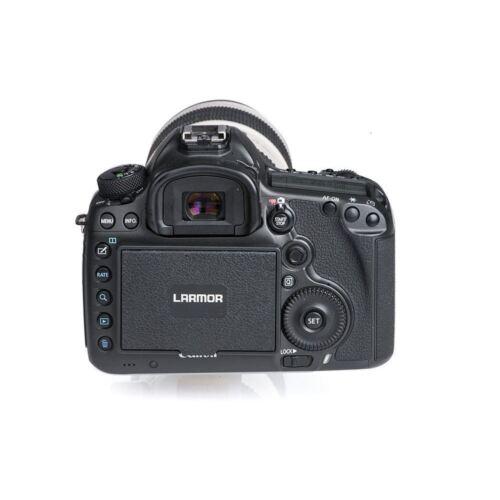 GGS de Larmor 5th Gen Vidrio Protector De Pantalla /& Sombrilla Capucha Set para Canon 5D Mk4