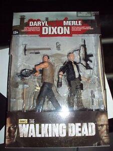 Walking Dead Daryl et Meryl Dixon Brothers - Ensemble de 2 jouets Mcfarlane