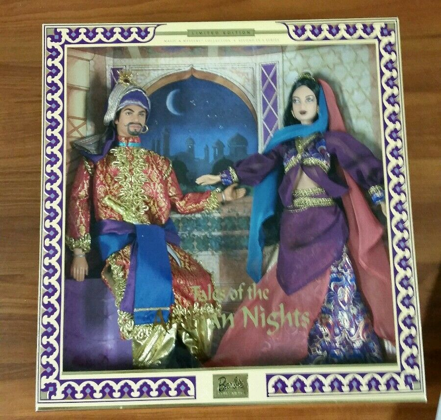 Cuentos De La Arabian Nights Set De Regalo Barbie & Ken Limited Edition Sellado Nrfb