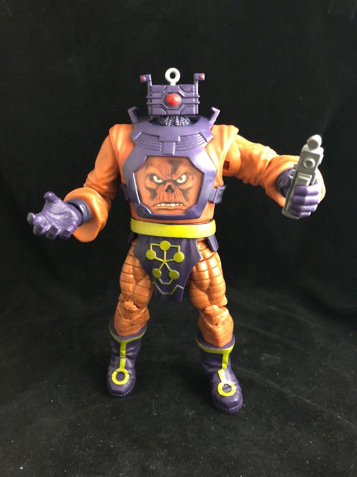 Marvel Legends Arnim Zola rot Skull Complete BAF Build a Figure AIM Baron Zemo