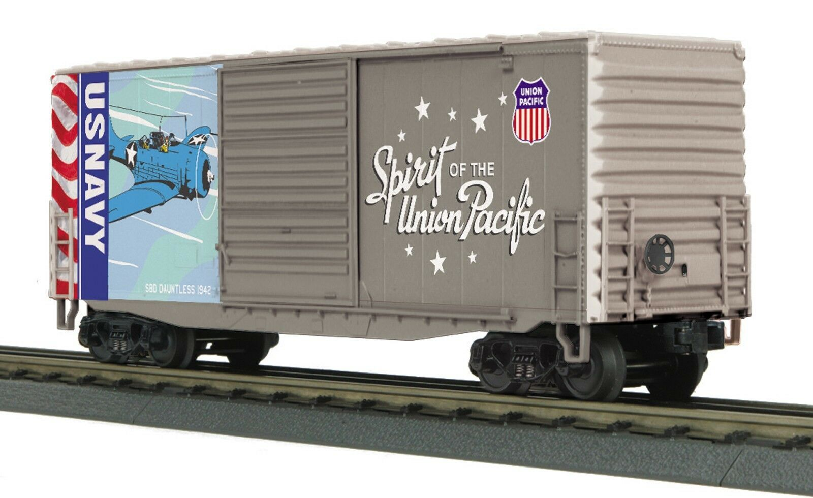 30-74925 Union Pacific (Navy - Spirit of Union Pacific) 40' High Cube Box Car