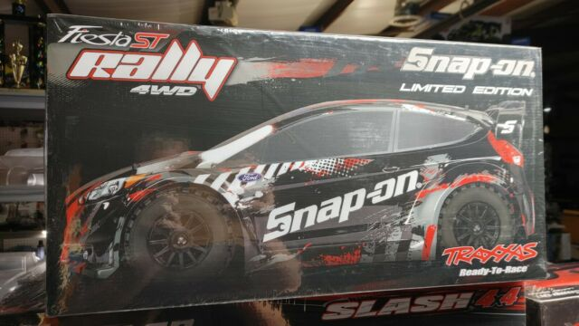 Snap-on limited edition Traxxas Fiesta ST Rally