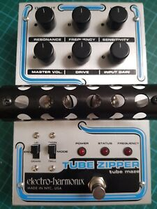 Electro-Harmonix-TUBE-Zipper-PEDALE-with-Adattatore