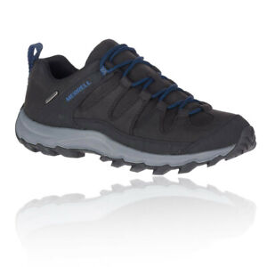 Merrell-Homme-doutenement-Peak-Impermeable-Chaussures-De-Marche-Noir-Sports-Outdoors