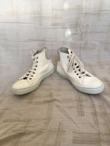Details about Alexander Mcqueen Calamity Micmac Milk Bone, Mens Shoes, Size 8D