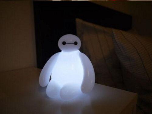 Changement de Couleur Big Hero 6 Baymax USB DEL table lampe de bureau Lumière Jouets S310