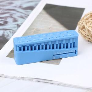 Dental-measuring-block-endodontic-file-holder-ruler-autoclavable-tools-RK
