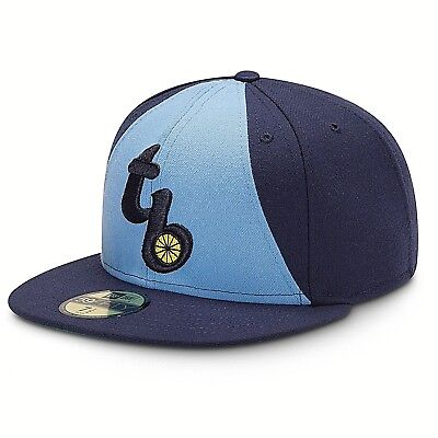 half off professional sale super specials New Era MLB Retro Home 59FIFTY Tampa Bay Rays TB Fitted Hat Cap 7 ...